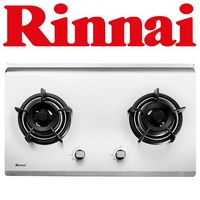 RINNAI RB-72S 2-BURNER STAINLESS STEEL HOB