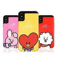 BT21  iPhone7 8 Plus Card Bumper case