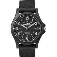Timex TW4B08100 นาฬิกาข้อมือสำหรับผู้ชาย สายผ้า