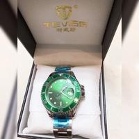 TEVISE 特威斯 綠水鬼 機械錶 男錶 手錶