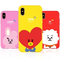 ★ Line Friends ★ BT21 Soft Case ★ iPhone X / iPhone 8 / iPhone 7 ★ Galaxy Note9 / Note8 / S9 / S8 ★
