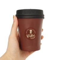 Cute Squishy Slow Rising Jumb Brown Coffee Cup Kid Addult Toys Home Decoration