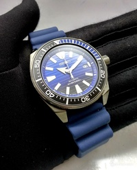 * MADE IN JAPAN * BRAND NEW SEIKO PROSPEX BLACK SAMURAI SAVE THE OCEAN MENS AUTOMATIC DIVERS WATCH SBDY025