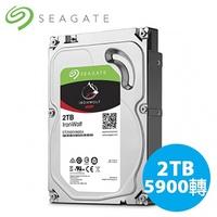 Seagate 希捷 IronWolf 那嘶狼 2T 3.5吋 NAS 硬碟 ST2000VN004
