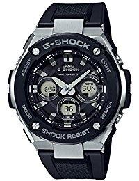 CASIO (Casio) G - SHOCK G - Shock G - STEEL G Steel GST - W 300 - 1 Black × Brown Watch Overseas...