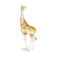 Swarovski 年集長頸鹿媽媽跟寶寶