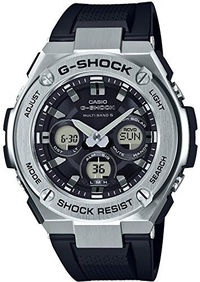 (Casio) [Casio] CASIO watch G-SHOCK G Shock G-STEEL Solar radio GST-W310-1AJF Men s-