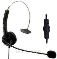 NEW Volume and Mute RJ9 plug headset office headset noise canceling headset for Avaya 2400 4600 Mitel Nortel