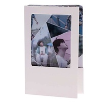 10pcs KPOP Universe Crystal Card Sticker Photocards Decor for EXO BTS - 07