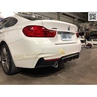 BMW F32 F33 F36 M-TECH 後保桿 專用 P版 後下巴 後飾板 雙出 PP材質 現貨供應