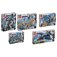 LEGO 樂高 76123 76124 76125 76126 76131 (樂高熊) 復仇者聯盟4 大全套共五盒