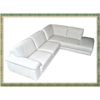 HTL LEATHER SECTIONAL 全牛皮 L型沙發