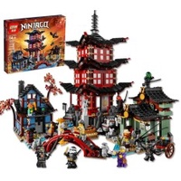 Ninjagoed City of Stiix Building Blocks 2150pcs Temple of Airjitzu minifigures Kids Bricks Toys Compatible With Legoe 10427