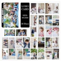 Youpop KPOP BTS Bangtan Boys Summer Package Photo Album LOMO Cards New Fashion Self Made Paper Card HD Photocard LK425 - intl