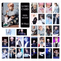 BTS Bangtan Boys YOU NEVER WALK ALONE JIMIN Album LOMO Cards New Fashion Self Made Paper Photo Card HD Photocard LK483
