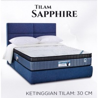 King Koil Prince Collection SAPPHIRE 12 Inches Chiropractic Coil Spring Mattress