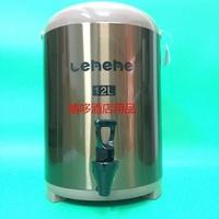奶茶桶  12L奶茶桶豆漿桶 商用雙層保溫桶 奶茶店不銹鋼保溫桶DF