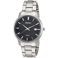 (Seiko Watches) Seiko Watches Mens Neo Classic Stainless Steel Watch