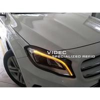 巨城汽車精品 BENZ GLA 15-18 低階改高階 LED 黑框魚眼大燈 總成 GLA180 200 GLA45