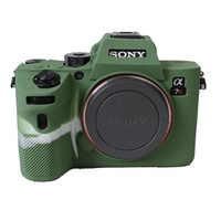 Soft Silicone Case for SONY A7RM3 A7R3 III A7M3 A7III Protective Cover Shell Case for Mirrorless Dig