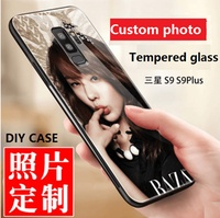 OPPO R11S/R11S Plus、R11/R11 Plus Creative diy personalized custom photo Tempered glass case cover