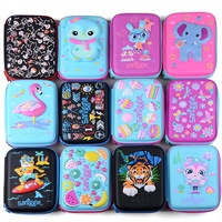 Smiggle, Australia creative cute super cute pencil box pencil case solid hard pencil-case zipper pen