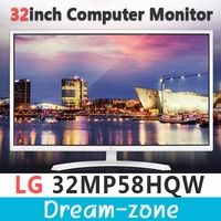 LG 32MP58HQW 32inches Computer Monitor / Wide 16:9 Monitor / 1920X1080 Full HD Monitor