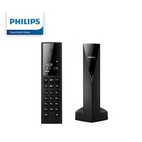 Philips Linea V Design Cordless Phone M3501B/90 with white backlight