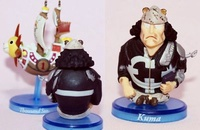 海賊王 Q版盒玩 FC 21 二年後 兩年後 深海的冒險 合售 守護千陽號的大熊 公仔 共2個