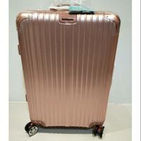 Rowana 川字立體拉絲鋁框行李箱 25吋