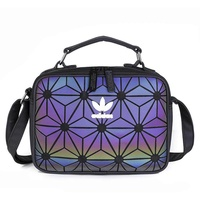 Adidas_Issey Miyake 2019 Women Shoulder Bags Synthetic Leather Sport Travel Sling Cross Boday Bag Tote Bags Handbag