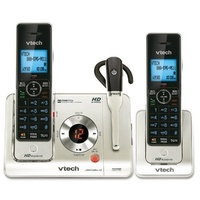 VTech LS6475-3 DECT 6.0 Expandable Cordless Phone with Answering System and DECT Cordless Headset??