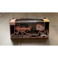 現貨- 全家 經典福斯系列-露營拖車 Volkswagen Beetle 經典粉紅色露營車