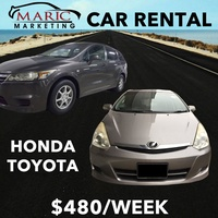 [MARIC CAR RENTAL] $480 Per week | Min 3 Month Contract | Free 3 Days Rental |