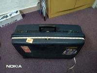 #Amplify July35 Vintage Delsey Hard Case Luggage