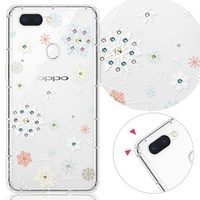 【YOURS】OPPO 全系列 彩鑽防摔手機殼-雪戀(Reno/realme3Pro/R17/R15Pro/R11s+/R11+/R9s+/AX5s)
