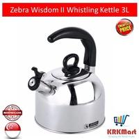 Zebra Wisdom II Whistling Kettle 3L