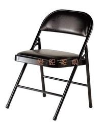 【世紀傢俱】全新 黑皮 折合椅/摺疊椅/會議椅/課桌椅/洽談椅/接待椅/方便椅 非二手 台北/桃園/彰化/屏東 可免運