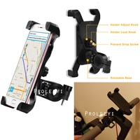 Handlebar Phone GPS Holder Stand for Xiaomi Mijia M365 MI Bird Spin Electric Scooter Motorcycle Bike for Ninebot Es1 Kickscooter