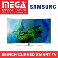 SAMSUNG QA55Q8CAMK 55INCH QLED 4K CURVED SMART TV / NO FREE GIFT / LOCAL WARRANTY