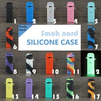Texture case for Smok Nord pod Kit Protective Silicone Rubber Sleeve Cover Shield