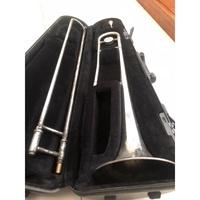 凱傑樂器 中古美品 YAMAHA YSL-154 長號 附盒