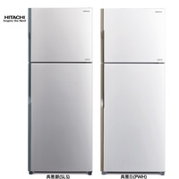 HITACHI日立 414L R-600a環保新冷媒  雙門變頻電冰箱 典雅銀  RV439-SLS