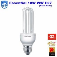 Philips Essential Bulb 18W E27 Cap Warm White x 6
