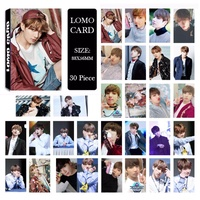 BTS Bangtan Boys YOU NEVER WALK ALONE JUNGKOOK Album LOMO Cards New Fashion Self Made Paper Photo Card HD Photocard LK484