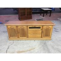 年強二手家具-電視櫃*實木電視櫃  90225332