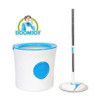 BOOMJOY M16 premium Single Big Bucket Spin Mop 360 Floor Cleaning Bucket