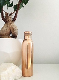 Copper Watter Bottle Copper utensils Kameations Pure Copper Yoga Water Bottle New In