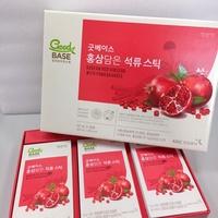 韓國正官庄紅蔘石榴飲