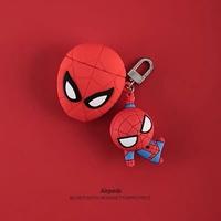🎧🎧蜘蛛人🎧🎧蘋果 apple airpods 藍牙保護套加吊飾🎧🎧